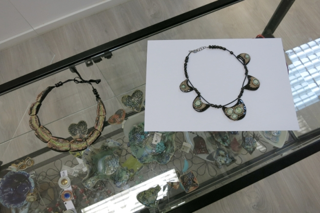 Alexandru Ariciu, Ceramic Necklaces, Elite Art Gallery, Bucharest