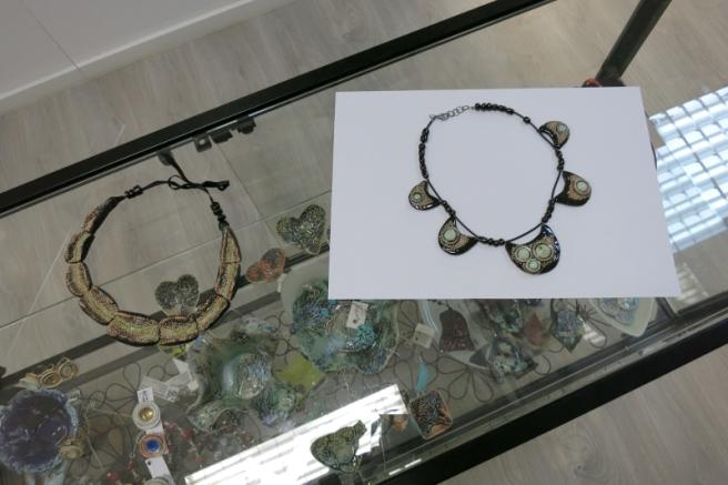 Alexandru Ariciu, Ceramic Necklaces, Elite Art Gallery, Bucharest