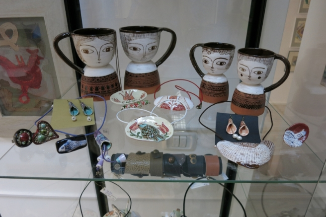 Alexandru Ariciu, Ceramics, at Elite Art Gallery in Bucharest