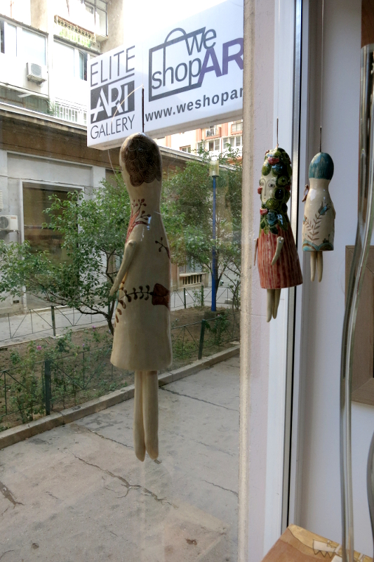 Alexandru Ariciu, Ceramic Dolls, Elite Art Gallery, Bucharest