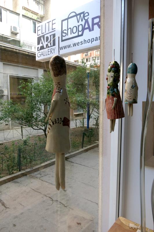 Alexandru Ariciu, Ceramic Dolls, Elite Art Gallery, Bucharest